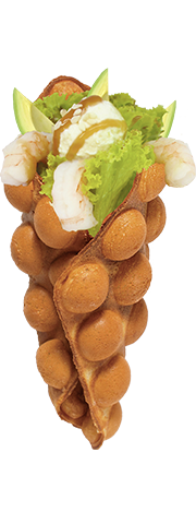 Креветки+авокадо